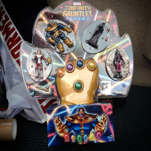 The Infinity Gauntlet in One
